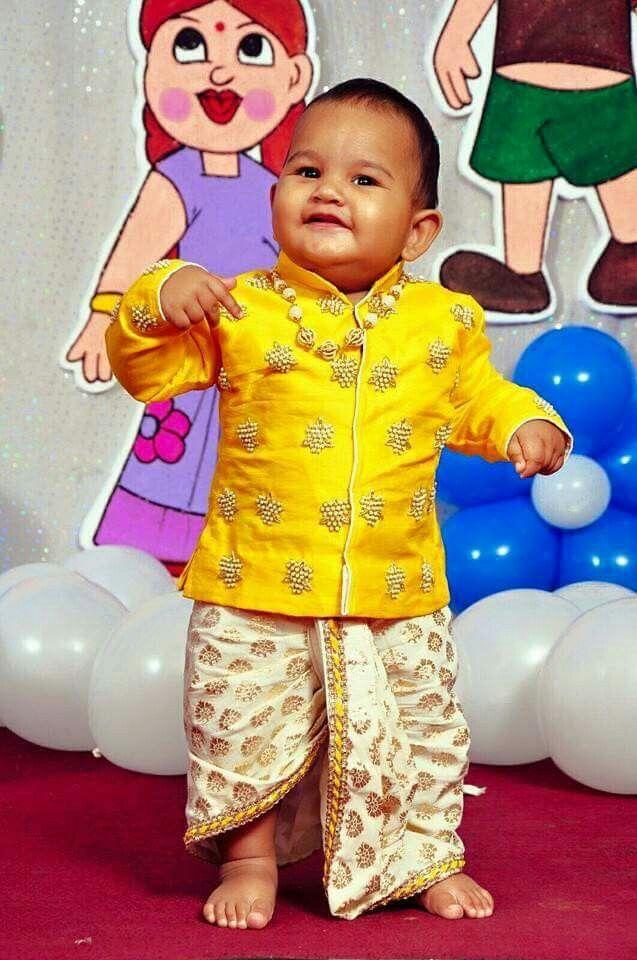 581cb05a055 Baby Boy Dress · Me n mom Kids Indian Wear