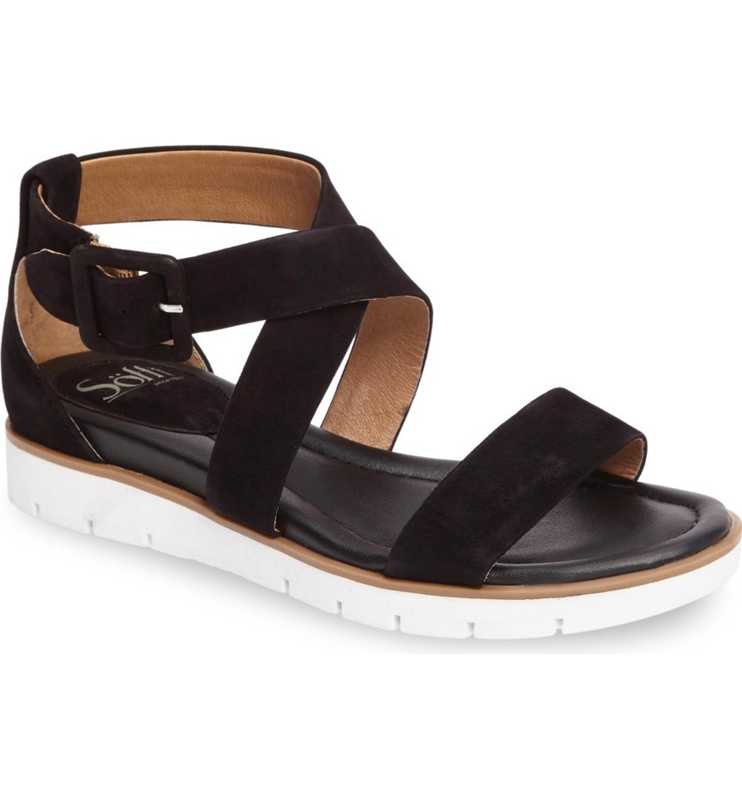 Main Image - Söfft Mira Ankle Strap Sandal (Women)