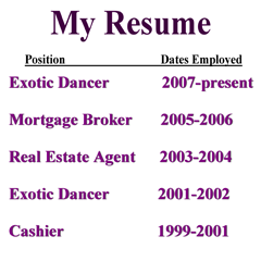 Poor Resume Examples  Google Search  Job Search Strategies