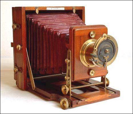 The Instantograph Camera C1889 J Lancaster Son Vintage Film Camera Vintage Cameras Antique Cameras