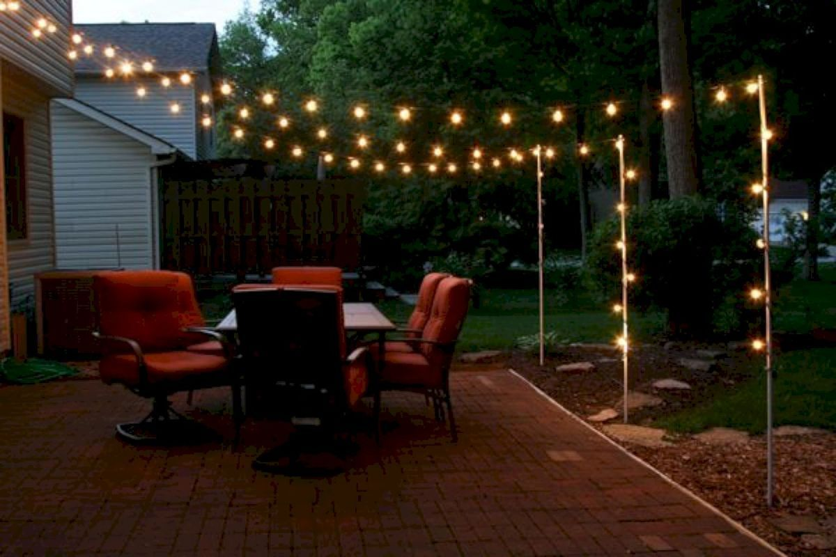 Inspiring Backyard Lighting Decor Ideas