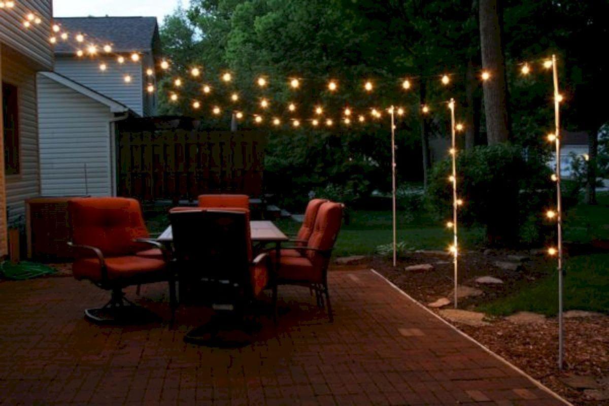 31 Inspiring Backyard Lighting Decor Ideas Outdoor Patio Lights