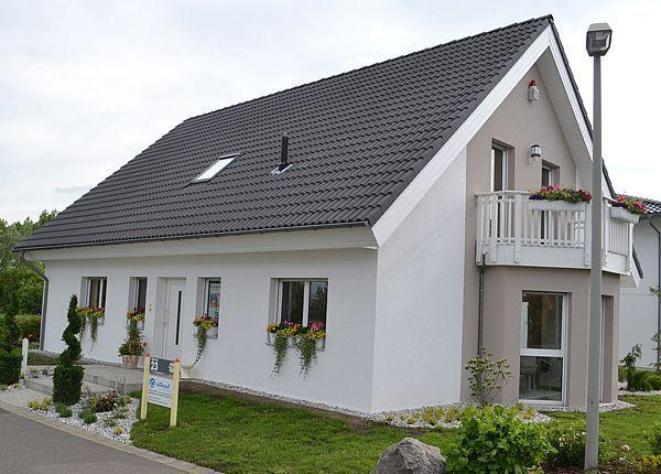Außenansicht Musterhaus allkauf UNGERPark Leipzig Haus