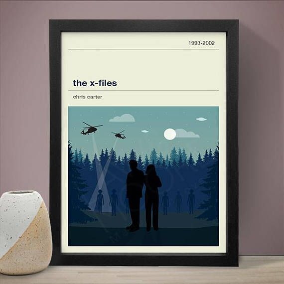 The X Files Tv Series Poster Tv Print Print Poster Sizes