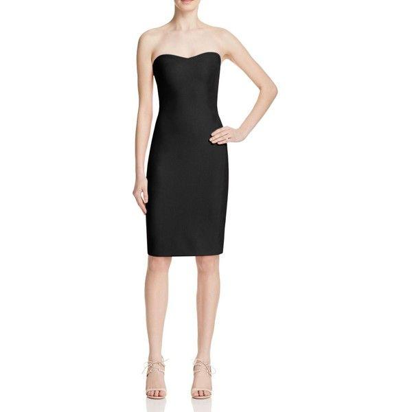 Likely Lauren Strapless Dress (345 BAM) ❤ liked on Polyvore