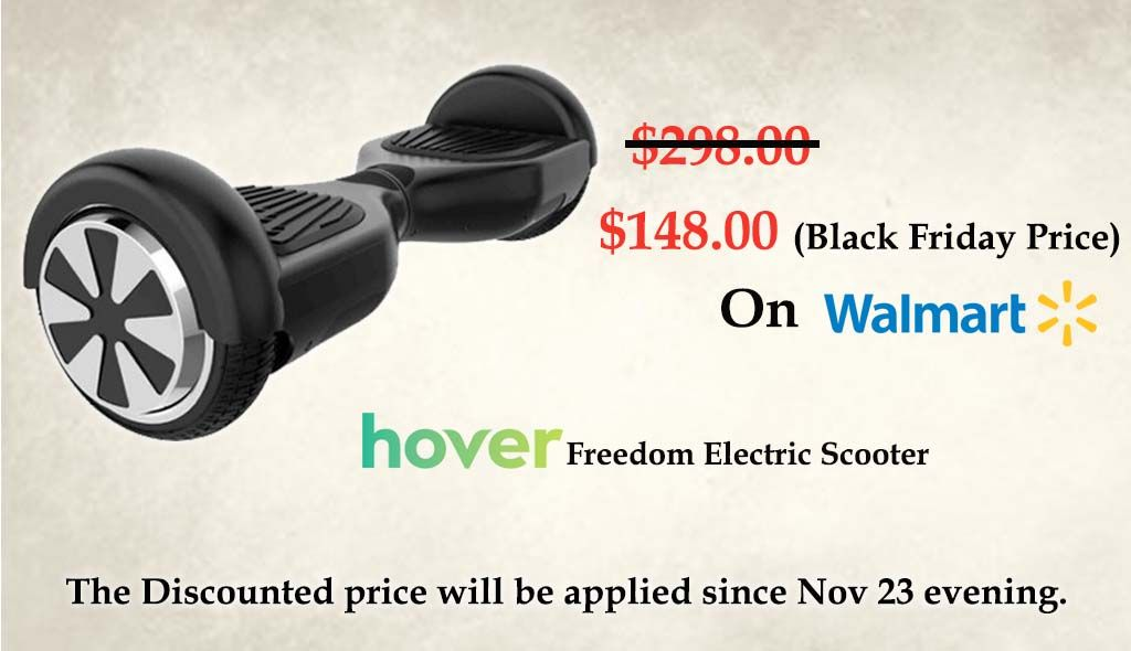 Buy Hover Freedom Electric Scooter For 148 On Black Friday Https