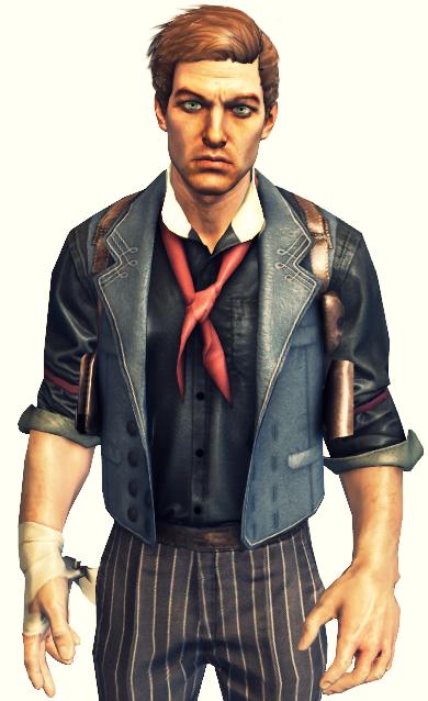 Bioshock Infinite Booker DeWitt Cosplay Costume