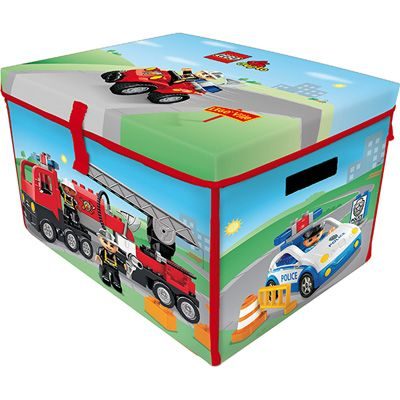 neat oh lego duplo zipbin large toy box playmat. Black Bedroom Furniture Sets. Home Design Ideas