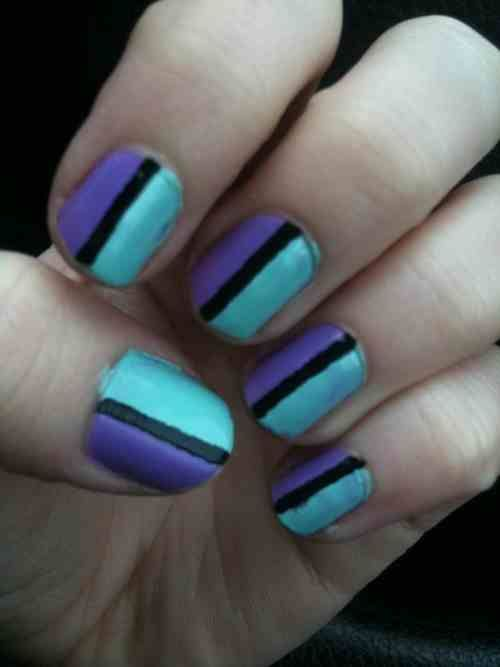 Quick And Easy Nail Art Design : 6 Easy Nail Designs Tumblr . - Quick And Easy Nail Art Design : 6 Easy Nail Designs Tumblr