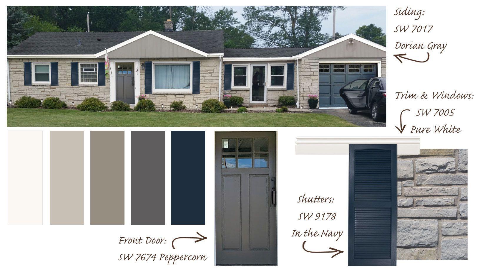 Exterior House Paint Color Consultation Home Color Palette Hom