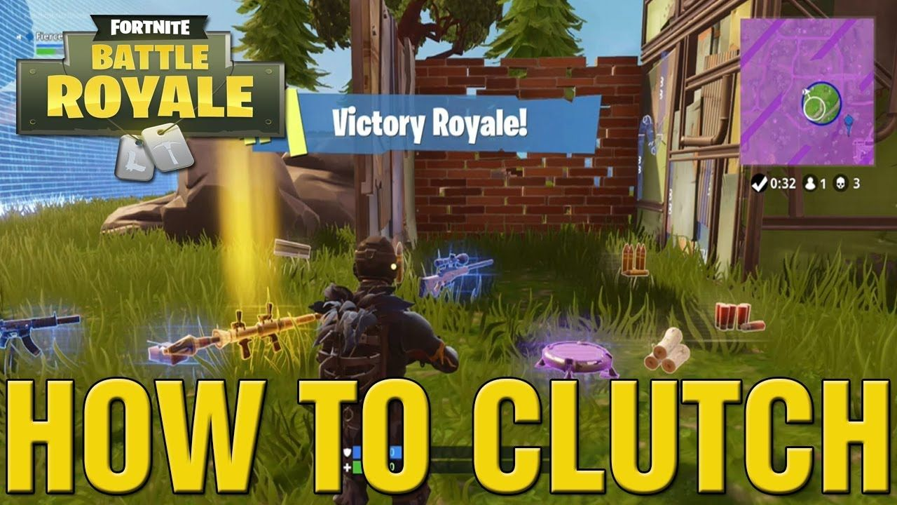 Is It Hard To Win Solo In Fortnite Fortnite Battle Royale How To Clutch Solo And Win How To Clutch Solo In Fortnite Battle Solo