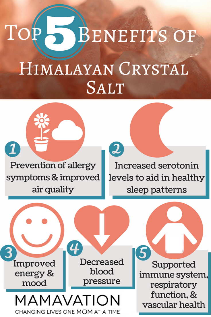 Salt lamps health benefits - Himalayan Crystal Salt Top 5 Benefits