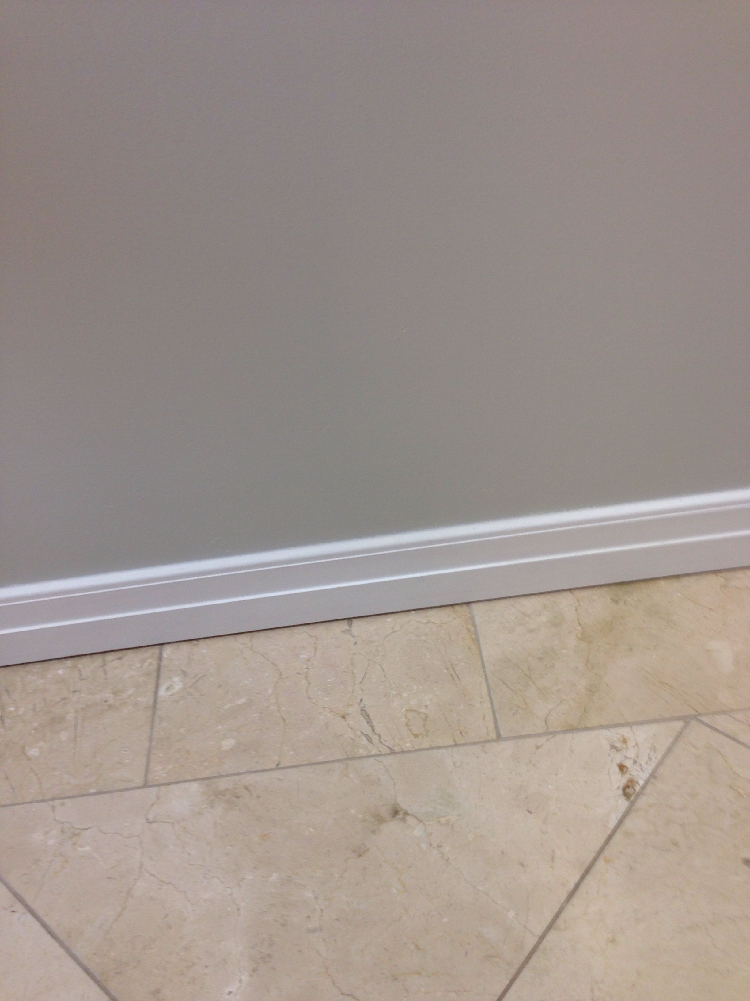 Gray walls, travertine - color combo | Flooring ...