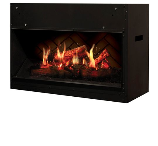 fire reviews in electric featherston mounted wall pebbles dimplex fireplace black curved pebble