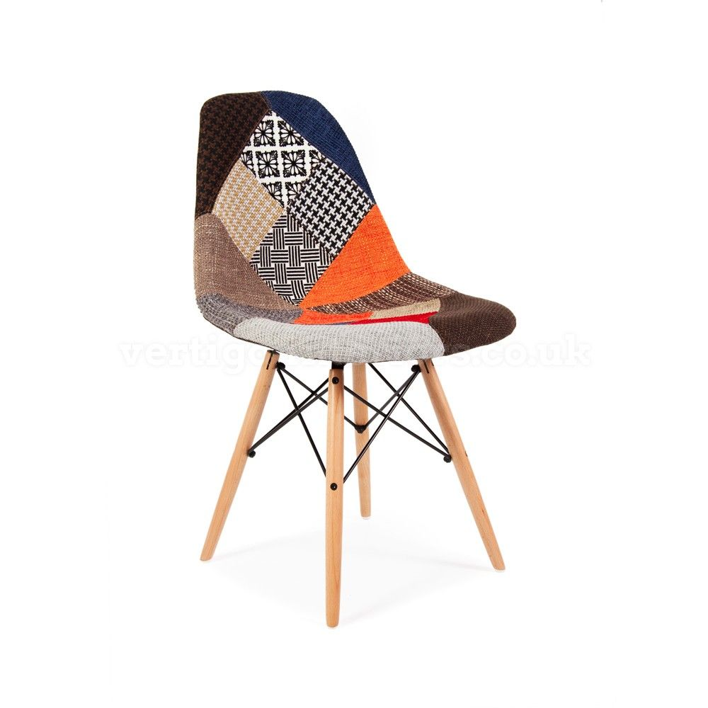 Replica Eames DSW Upholstered Chair
