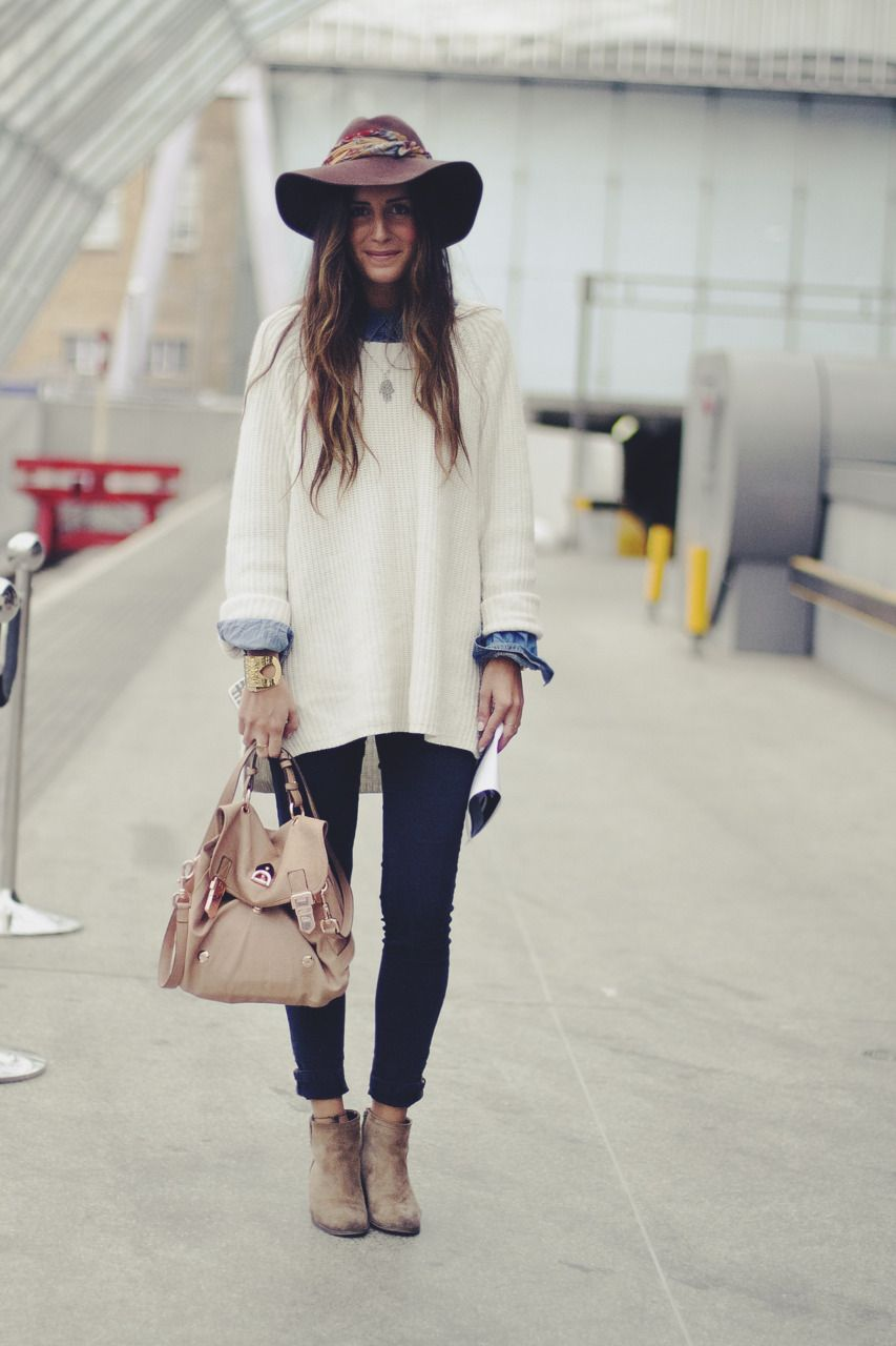 Perfect oversized sweater look | Love that Style | Pinterest ...
