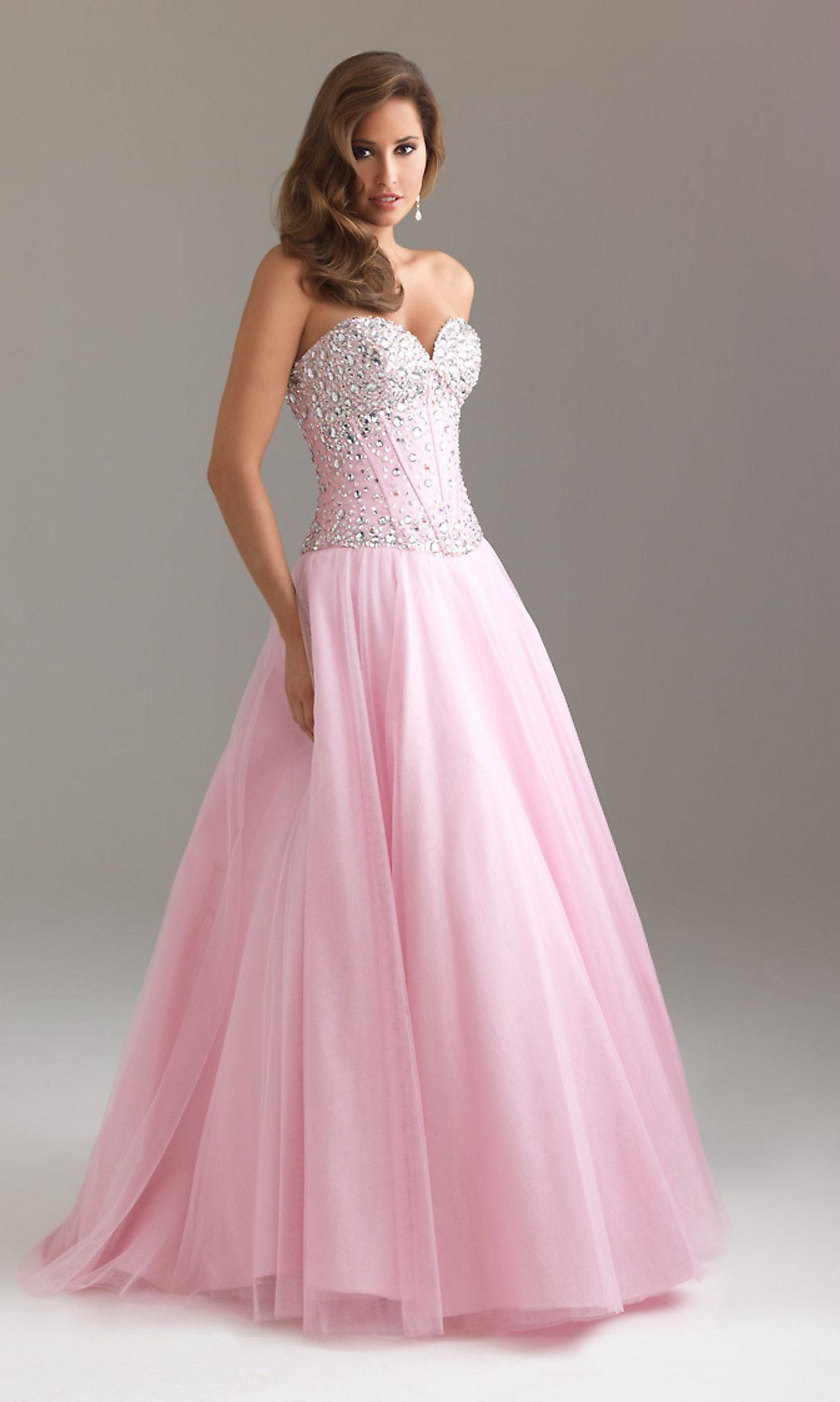 Most every girl dreams of wearing something this elegant and ...