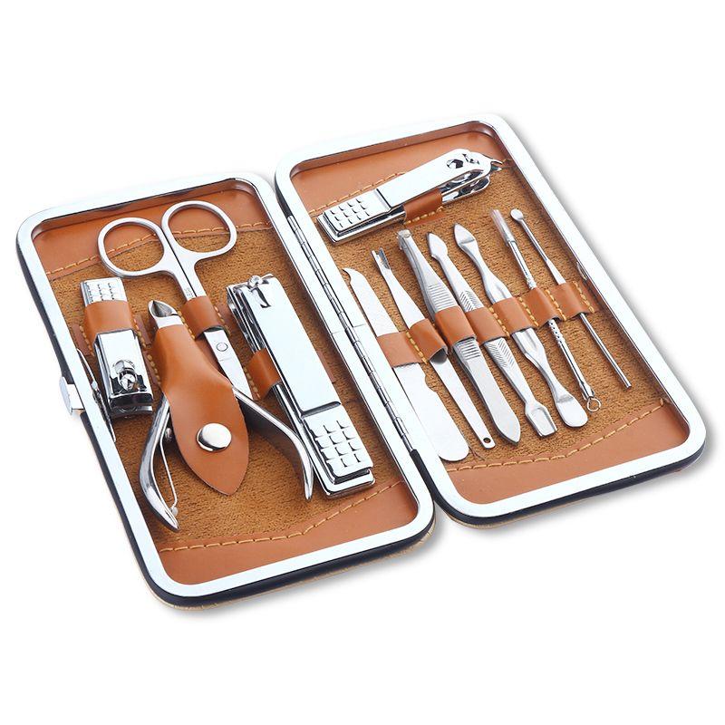 12In1 pcs Portable Nail Gel Clipper Nipper Cutter Kit Nail Art Tools ...