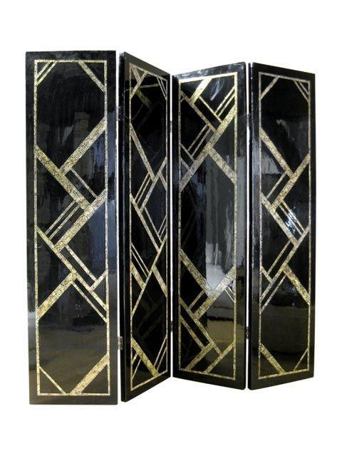 art deco room separator deco art fabulance pinterest art deco art deco room and deco. Black Bedroom Furniture Sets. Home Design Ideas