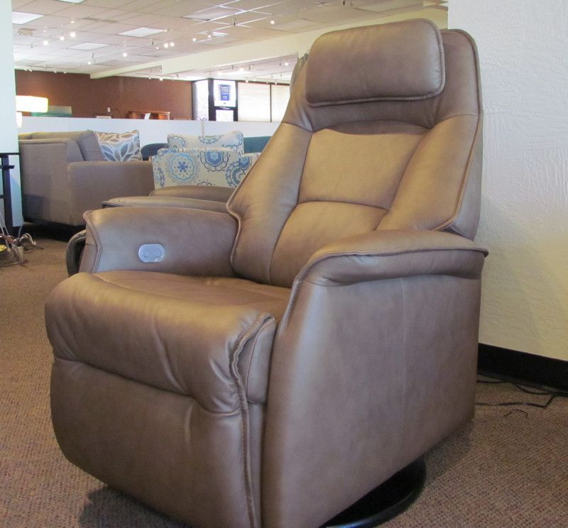 Stockholm small power recliner in Nordicline Cappuccino leather & Stockholm small power recliner in Nordicline Cappuccino leather ... islam-shia.org