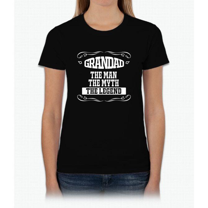 fathers day gift grandad Womens T-Shirt