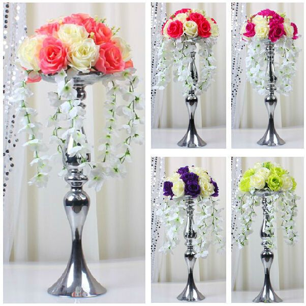 Tall Wedding Centerpieces Candle Holder | 75cm Tall Express Free ...