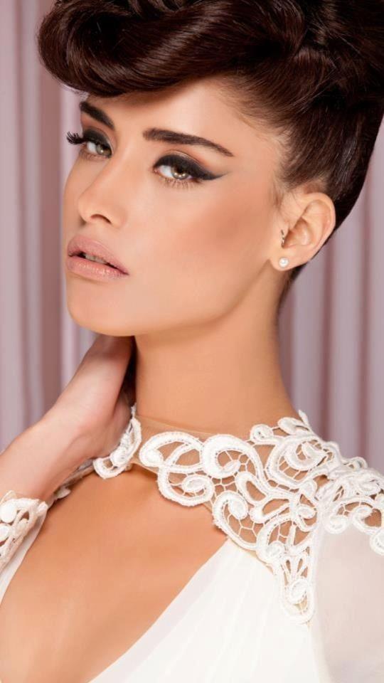 Nice #makeup: Bridal Cat Eye