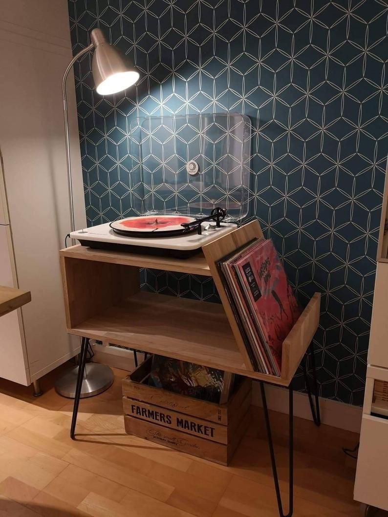Meuble Platine Vinyle En 2020 Meuble Pour Platine Vinyle Meuble Vinyle Vinyle