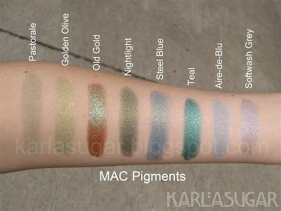 Pigment by MAC #20
