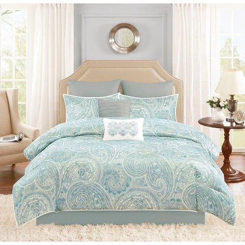 distressed green bedroom kashmir 8 piece distressed paisley comforter set i dont usually
