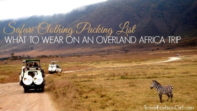 safari-clothing-packing-list. This will come in handy one day when I go on a Safari!