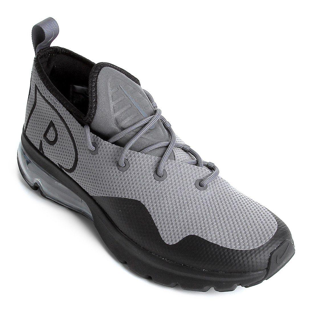b873c1e34c2 Tênis Nike Air Max Flair 50 Masculino - Preto+Cinza