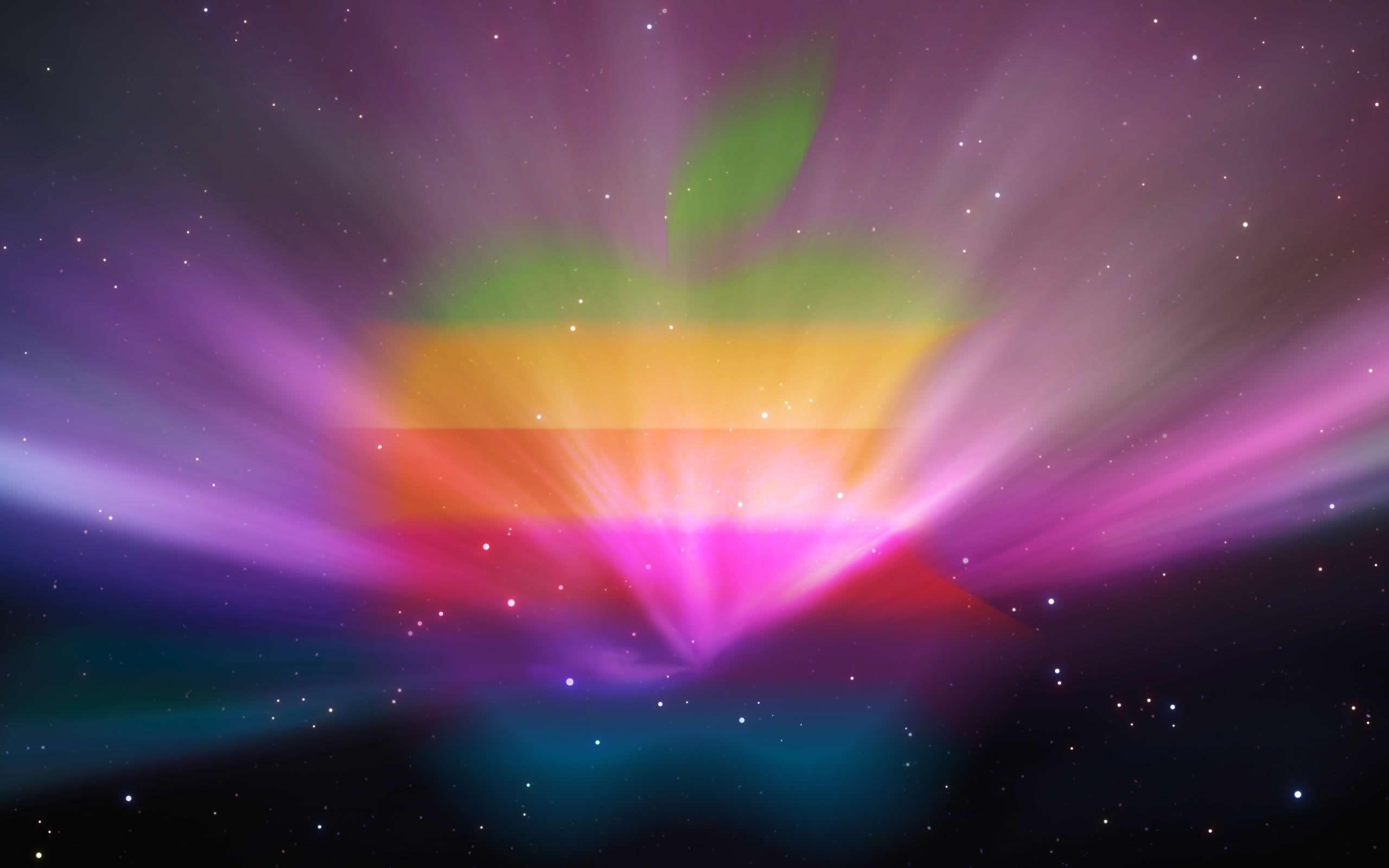 rainbow color effect full hd mac apple os desktop wallpaper free