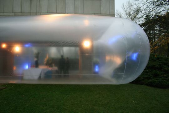 Inflatable Spaces Mobile Architecture Concept Architecture Art And Architecture