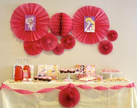 Sailor moon fiesta de cumplea os sailor moon and sailor - Fiestas de cumpleanos para adultos ...