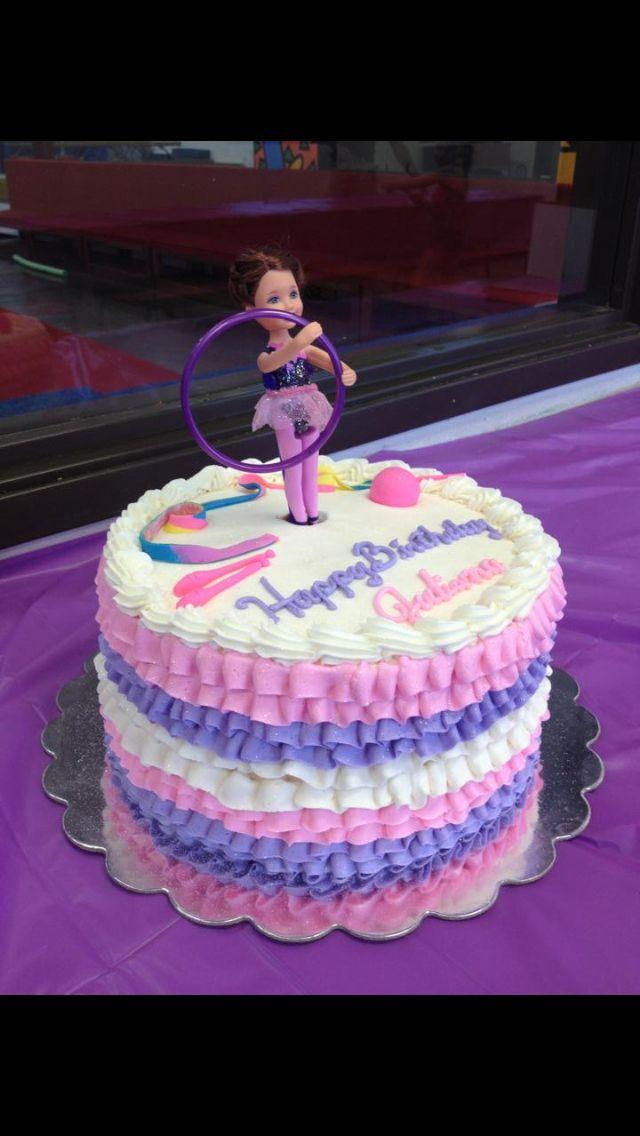 f10d6b1a0de8e Rhythmic gymnastics cake | For the Little Ladies in 2019 ...