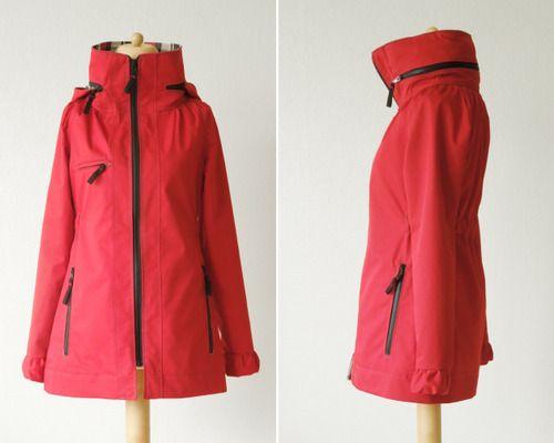 indie sewing pattern minotu jacket // waffle patterns | My sewing PJ ...