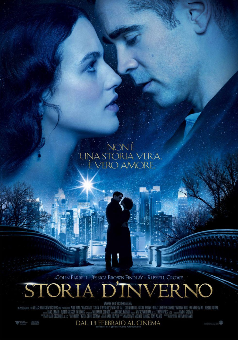 Storia D Inverno Streaming Film E Serie Tv In Altadefinizione Hd Film Colin Farrell Film Online