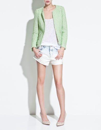 Zara set | Lookbook | Zara, Blazer y Blazer jacket