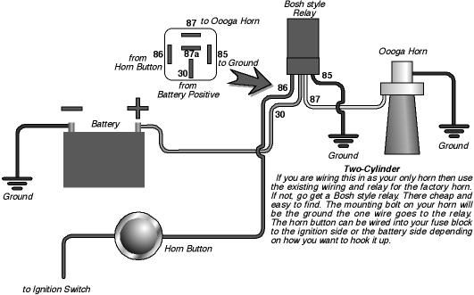 oooga horn wiring diagram need help wiring second horn. - mazda 6 forums : mazda 6 ... #2