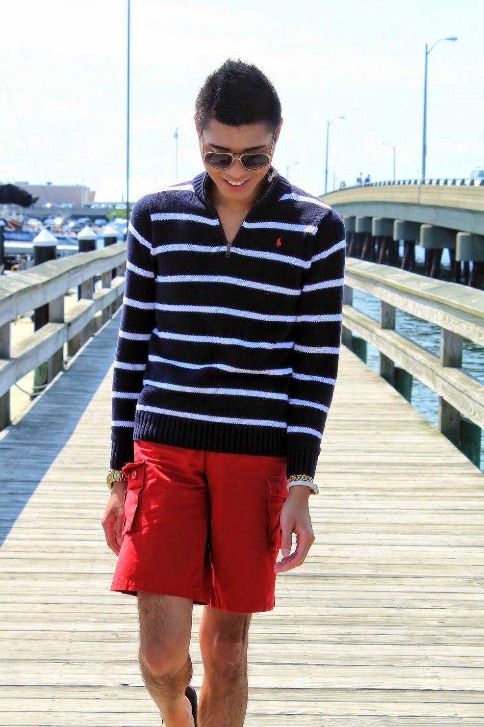 Nautical Casual Summer Mens Look | Zion Dejano