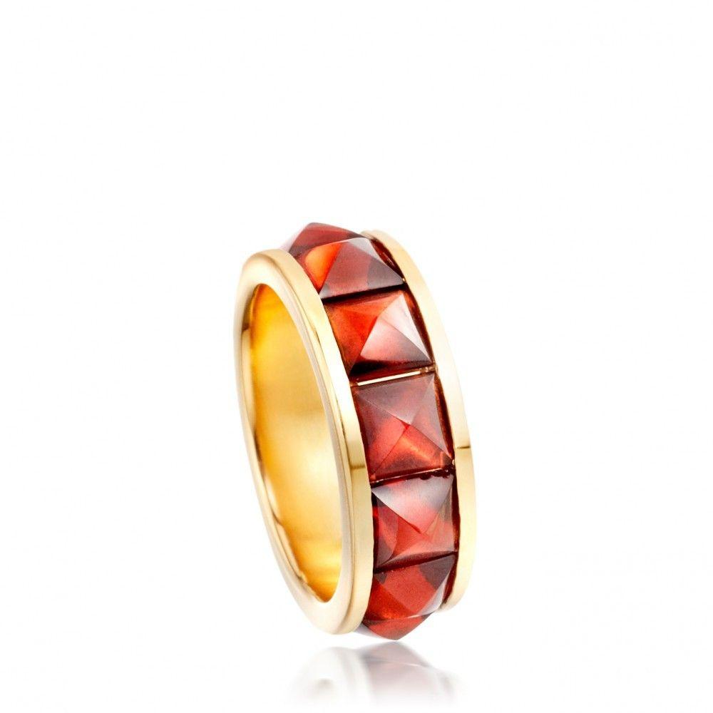 Astley Clarke - SUGARLOAF GARNET ETERNITY RING - Pressleys Jewellers