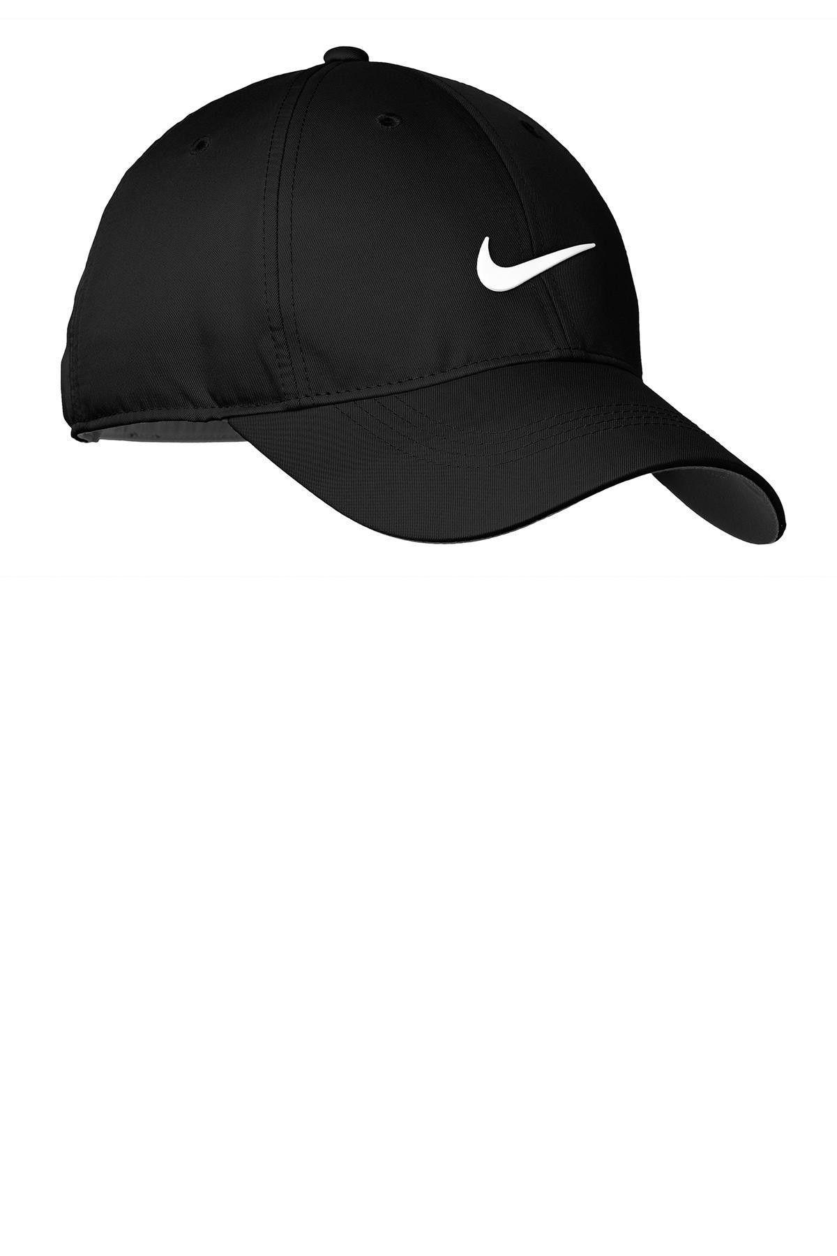 633aaac31df Nike Golf Dri-FIT Swoosh Front Cap. 548533 Black  white