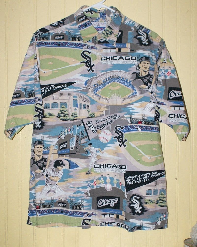 Reyn Spooner Chicago White Sox World Series Hawaiian Shirt