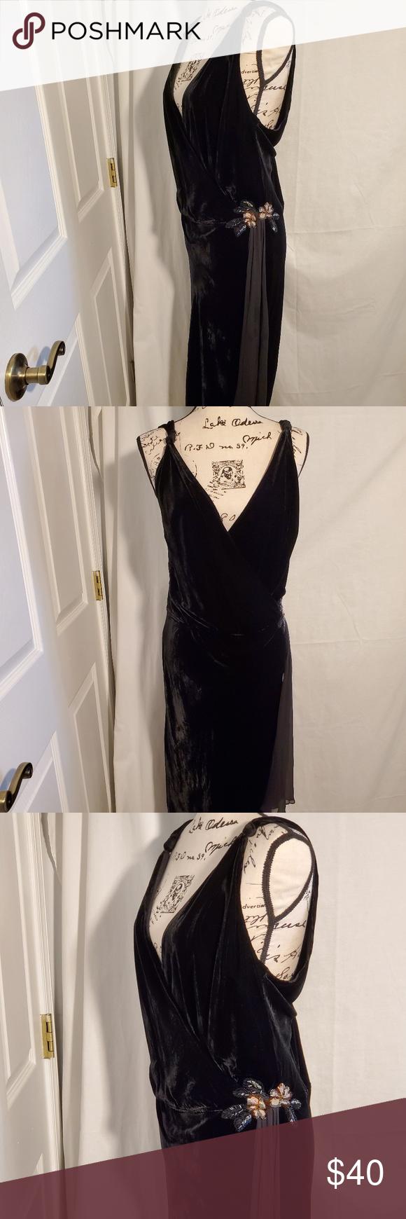 Newport News Black Velvet Cocktail Dress Size 18 Black Velvet Cocktail Velvet Cocktail Dress Size 18 Dress [ 1740 x 580 Pixel ]