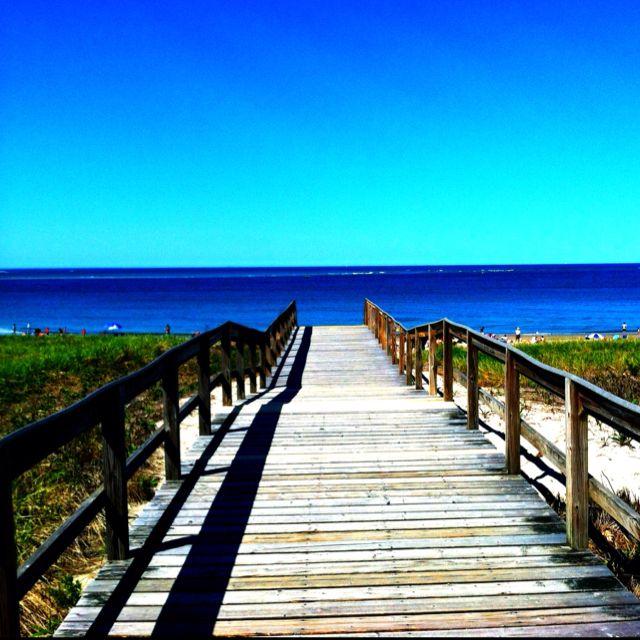 Crane Beach in Ipswich, Massachusetts