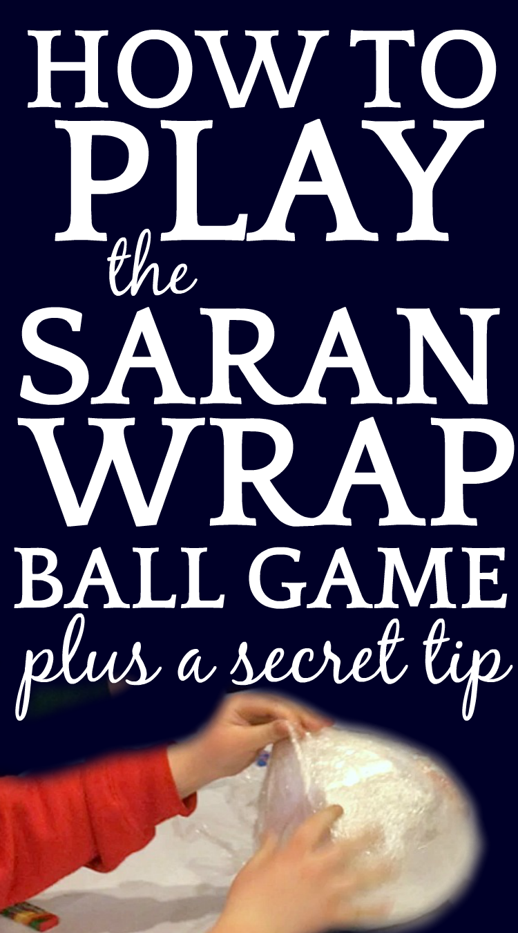 How to Play Saran Wrap Ball Game (Plus A Secret Tip) #christmasgames #christmasgamesforkids #holidaygames #partygames #games