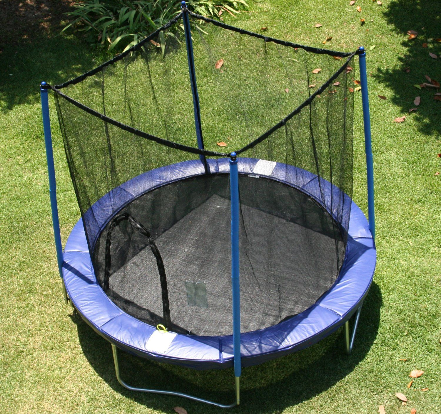 AirZone 8-Feet Outdoor Spring Trampoline with Mesh Padded ...