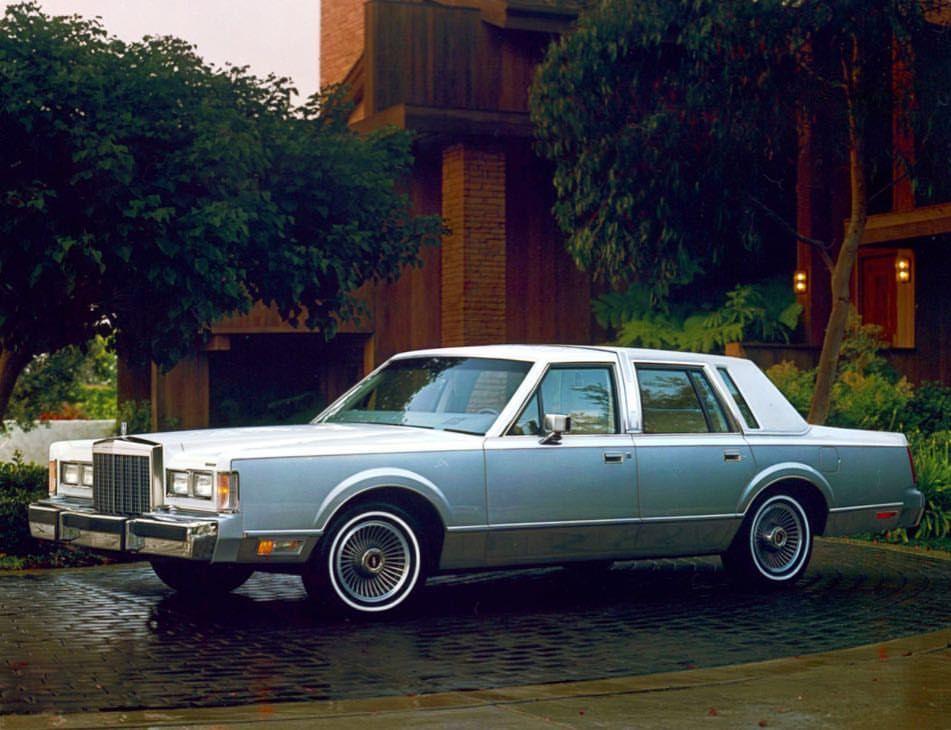 1985 Lincoln Town Car Cartier Edition Lincolnmotorcar Showcase
