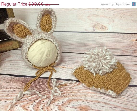 Baby Bunny Hat and Bunny Diaper Cover by silverboutiquecrafts  https://www.etsy.com/listing/217627093/sale-baby-bunny-hat-bunny-diaper-cover?ref=shop_home_active_7
